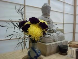 Zazen Shrine with Buddha